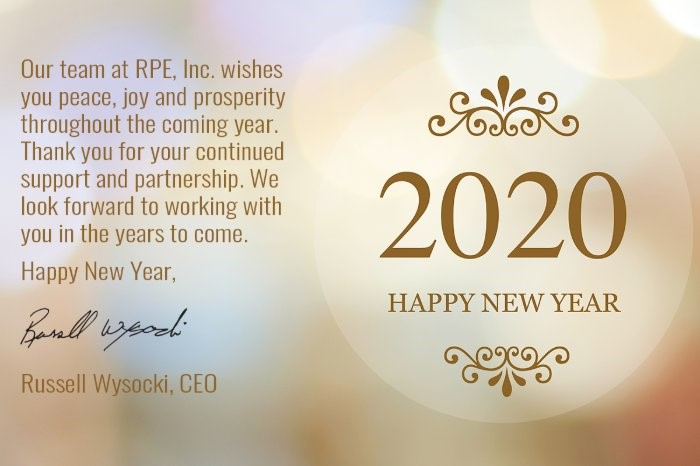 Happy New Year from RPE!